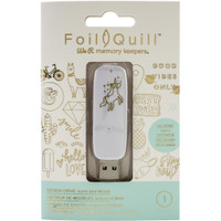 We R Memory Keepers - Foil Quill USB Artwork Drive - Icons & Words