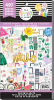 Me and My Big Ideas - The Happy Planner - Value Pack Stickers - Color Story (Exclusive)