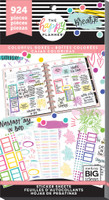 Me and My Big Ideas - The Happy Planner - Value Pack Stickers - Colorful Boxes