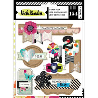 American Crafts - Vicki Boutin - Color Kaleidoscope Sticker Book