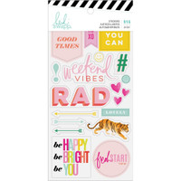 Heidi Swapp - Color Fresh - Sticker Book