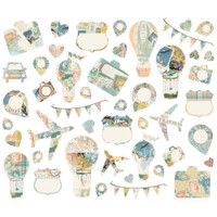 Carpe Diem - Simple Stories - Simple Vintage Traveler - Die Cuts