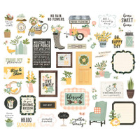 Carpe Diem - Simple Stories - Spring Farmhouse - Die Cuts