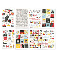 Carpe Diem - Simple Stories - Say Cheese - Stickers - 8 Sheets