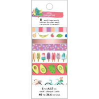 American Crafts - Amy Tangerine - Stay Sweet - Washi Tape - Set of 8
