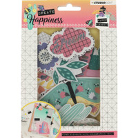 Studio Light - Create Happiness Paper Elements Set #647 - Die Cuts