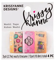 Krissyanne Designs - Kawaii Washi Tape Pack - Summer Doodles