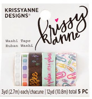 Krissyanne Designs - Kawaii Washi Tape Pack - Planner Doodles