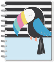 Me and My Big Ideas - Big Happy Planner - Pastel Tropics - 18 Months (Dated, Vertical)