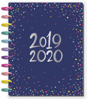 Me and My Big Ideas - Big Happy Planner - Happy Year - 18 Months (Dated, Lined Vertical)