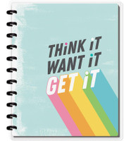 The Happy Planner - Me and My Big Ideas - Happy Notes - Think It, Want It, Get It - Big (Dot Grid)