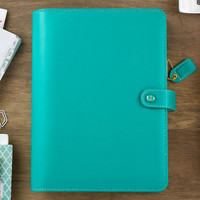 Webster's Pages - Color Crush - A5 Faux Leather Planner Kit - Jade