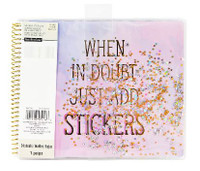 Recollections - Watercolor Shaker Spiral Sticker Album