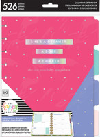 The Happy Planner - Me and My Big Ideas - Classic Extension Pack (Undated, Dashboard)