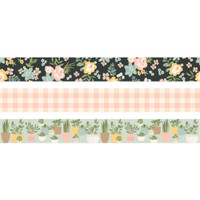 Carpe Diem - Simple Stories - Spring Farmhouse Washi Tape - Set of 3