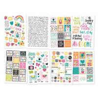 Carpe Diem - Simple Stories - Oh Happy Day - Stickers - 8 Sheets
