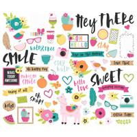 Carpe Diem - Simple Stories - Oh Happy Day Bits & Pieces Die-Cuts