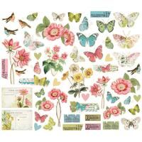 Carpe Diem - Simple Stories - Simple Vintage Botanicals Bits & Pieces Die-Cuts