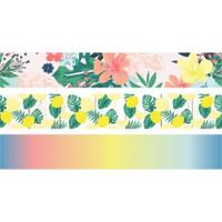 Carpe Diem - Simple Stories - Sunshine & Blue Skies Washi Tape - Set of 3