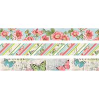Carpe Diem - Simple Stories - Simple Vintage Botanicals Washi Tape - Set of 3