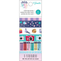 American Crafts - Shimelle - Sparkle City - Washi Tape - Set of 6