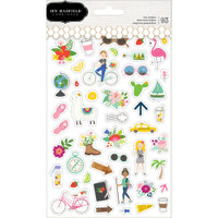Pebbles - Jen Hadfield - Chasing Adventures Clear Stickers