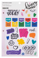 Krissyanne Designs - Sticker Book - Functional Planner - Rainbow