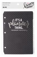 Krissyanne Designs - Binder Insert Tabs - Black & White