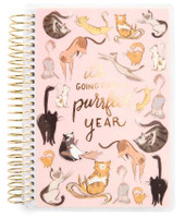 Recollections - Creative Year - Mini Spiral Planner - Purr Cats (Dated, Horizontal)