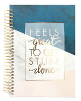 Recollections - Creative Year - Mini Spiral Planner - 2019-2020 Get Stuff Done (Dated, Horizontal) - Hardcover
