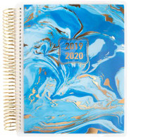 Recollections - Creative Year - Medium Planner - Blue Marble (Dated, Horizontal)