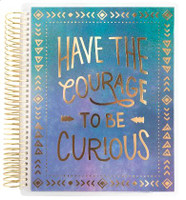 Recollections - Creative Year - Medium Planner - Have the Courage (Dated, Horizontal)