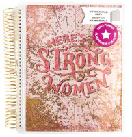 ***IMPERFECT*** Recollections - Creative Year - Medium Planner - Strong Women (Undated, Horizontal - Goals)