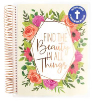 Recollections - Creative Year - Medium Planner - Find the Beauty (Undated, Vertical - Faith)