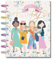 The Happy Planner - Me and My Big Ideas - 2019 - 2020 Happy Planner Classic - Squad Life (Dated, Lined Vertical)