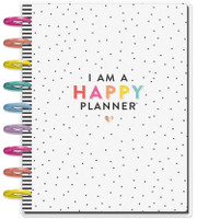 The Happy Planner - Me and My Big Ideas - 2019 - 2020 Happy Planner Classic - I Am A Happy Planner (Dated, Vertical)