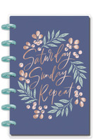 ***OUTDATED*** Me and My Big Ideas - Mini Happy Planner - Garden Blooms (Dated, Horizontal)