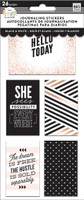 Me and My Big Ideas - The Happy Planner - Journaling (Flip) Stickers - Black & White