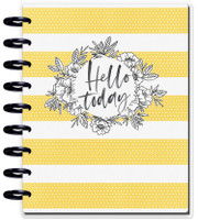 The Happy Planner - Me and My Big Ideas - Happy Notes - Hello Today - Classic (Journal)