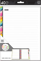 Me and My Big Ideas - The Happy Planner - Classic Refill Notes - Rainbow Notes