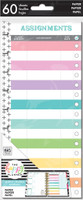 Me and My Big Ideas - The Happy Planner - Half-Sheet Classic Refill - Assignment