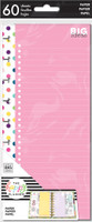 The Happy Planner - Me and My Big Ideas - Classic Refill Note Paper - Half Sheet - Colorful Dots