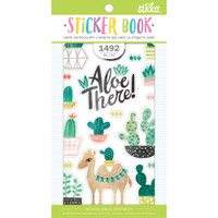 EK Success - Sticko - Sticker Book - Succulent