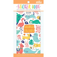 EK Success - Sticko - Sticker Book - Animal Friends