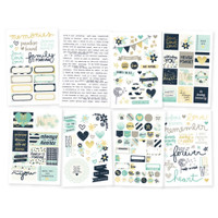 Carpe Diem - Simple Stories - Heart - Stickers - 8 Sheets