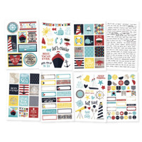 Carpe Diem - Simple Stories - Cruisin' - Stickers - 8 Sheets