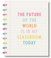 The Happy Planner - Me and My Big Ideas - Big Happy Notes - Future Of The World (Dot Grid)