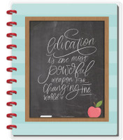 The Happy Planner - Me and My Big Ideas - Big Happy Notes - Education Is Powerful (Dotted Line)