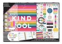 The Happy Planner - Me and My Big Ideas - Classic Student Box Kit - Kind Is The New Cool - 12 Months (Dated, Student)