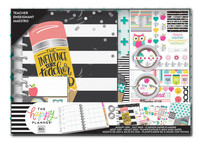 The Happy Planner - Me and My Big Ideas - Classic Box Kit - Teacher - Never Be Erased - 12 Months (Dated, Teacher)
